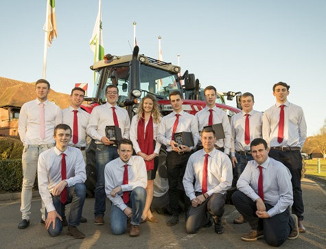 AGCO ACADEMY APPRENTICES COLLECT AWARDS