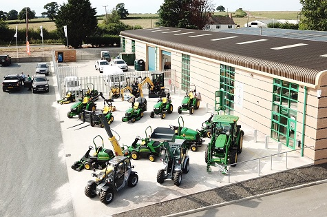 NEW FOREST OPEN NEW JOHN DEERE TURF OUTLET