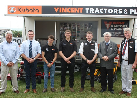 DEALER'S TRACTOR SCHOLARSHIP RETURNS