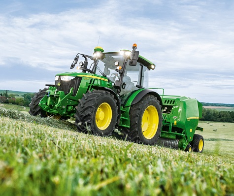 DEERE CUT YEARLY OUTLOOK