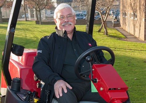 CLIVE PINNOCK RETIRES FROM REESINK TURFCARE
