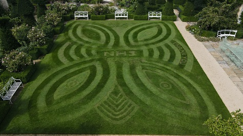 WINNER OF ALLETT'S CREATIVE LAWN STRIPES COMP CROWNED