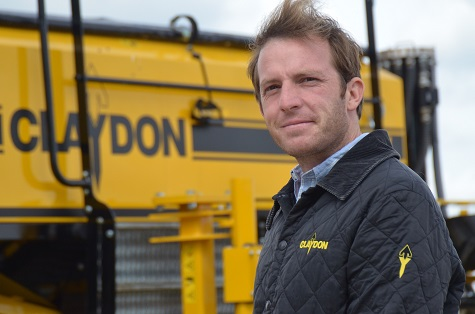CLAYDON APPOINT TERRITORY MANAGER