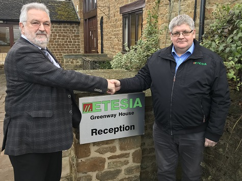 LES MALIN APPOINTED MD OF ETESIA UK