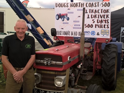 DEALER TO DRIVE 500 MILES ON VINTAGE TRACTOR