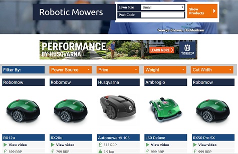 GARDEN TRADER ADDS ROBOTIC MOWER CATEGORY