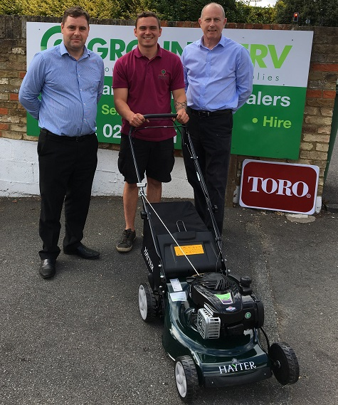HAYTER MAKES MOWER DONATION