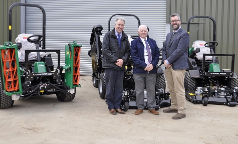 PA TURNEY IN 33 RANSOMES MACHINE DEAL