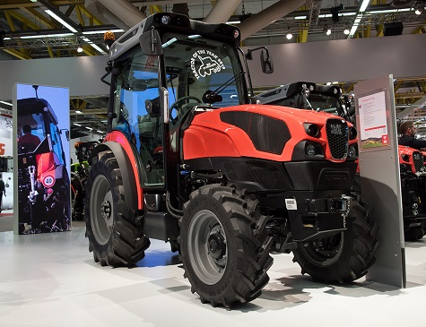 TRACTOR OF THE YEAR HONOUR FOR SAME